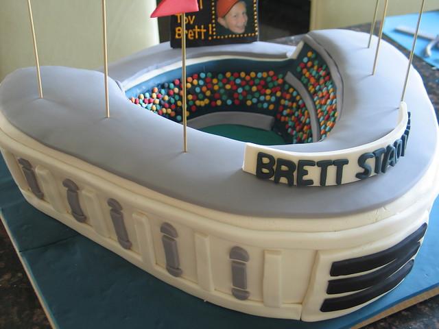 baseball stadium cake