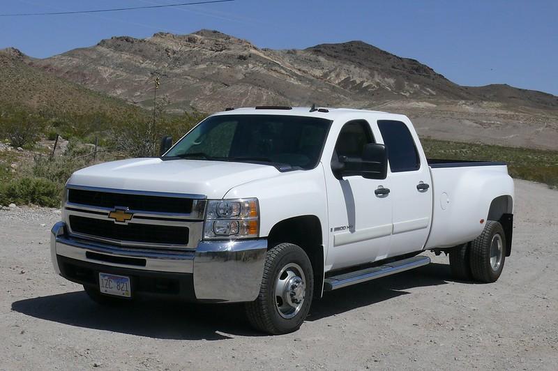 2007 Chevrolet Silverado 3500HD Diesel  Dually