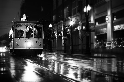street city urban white black wet monochrome lines rain rock cat canon river lens photography eos 50mm interesting downtown december little market clayton authority central tracks wells explore transportation rails arkansas f18 streetcar 2009 leading ef bigmomma 40d challengeyouwinner thechallengefactory mostly365 thepinnaclehof kanchenjungachallengewinner tphofweek25 img4286bwts noturbane twomin claytonwells