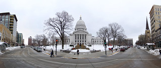 Madison Capitol from State St | by Ryan Wick