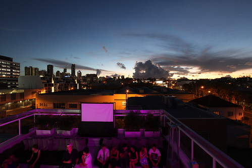 Limes Hotel Roof Bar and Brisbane Sunset | by Richard Moross