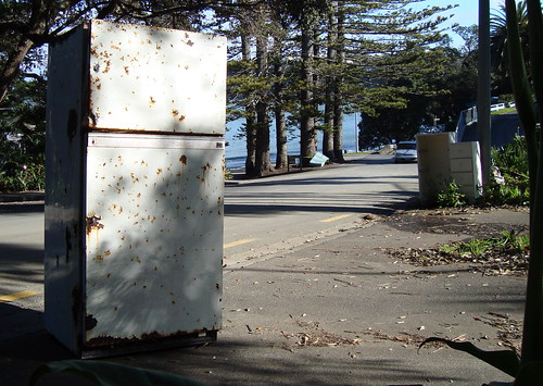 dead fridge in Auckland | by Martin Horspool The Robot Man