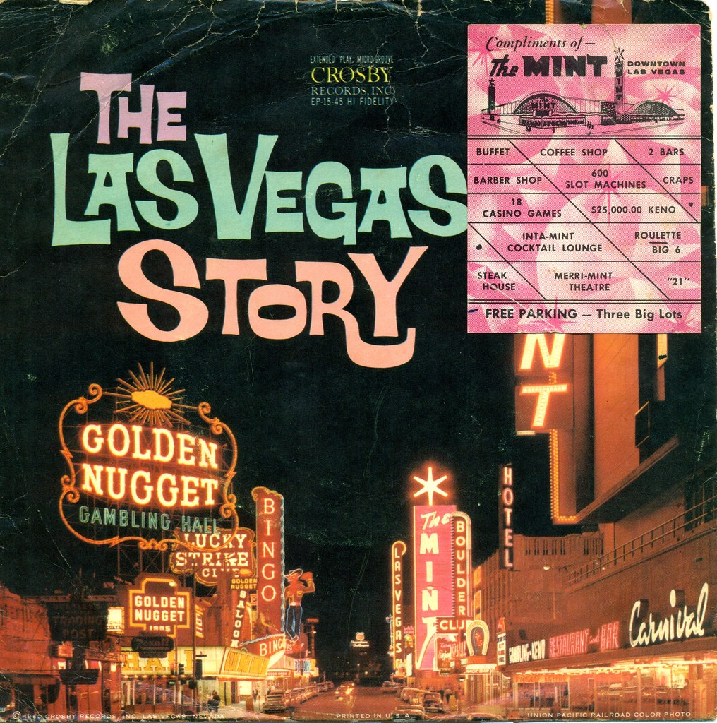 The Las Vegas Story   This is an extended play 45 rpm souven