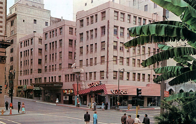 Googies Restaurant and San Carlos Hotel - downtown L.A.