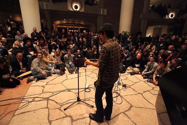 Jake Shimabukuro rocks TED party