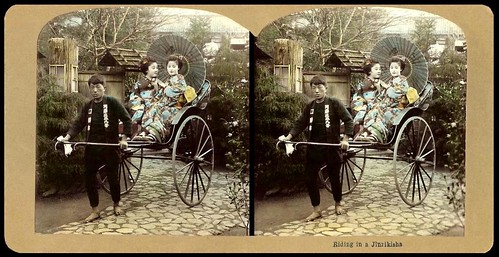 TWO MAIKO GOING OUT FOR A RIDE in OLD JAPAN | by Okinawa Soba (Rob)