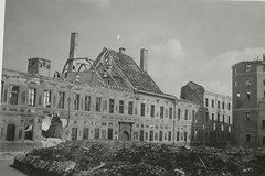 The destroyed synagogue; Munich | by Center for Jewish History, NYC