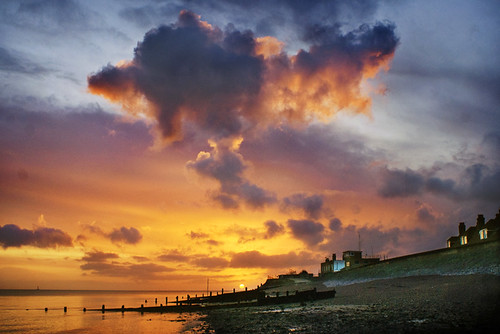 sea sky cloud beach water sunrise coast kent shore groynes isleofsheppey sheerness