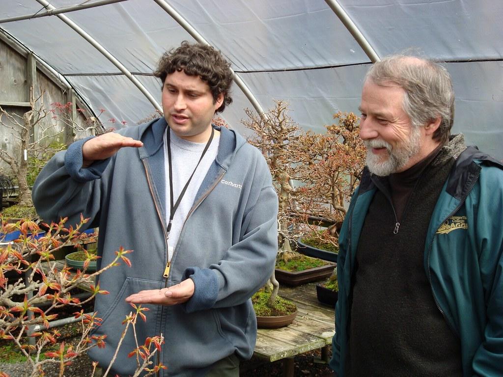 Visiting Bonsai Master Jim Doyle From Pennsylvania With Bo Flickr