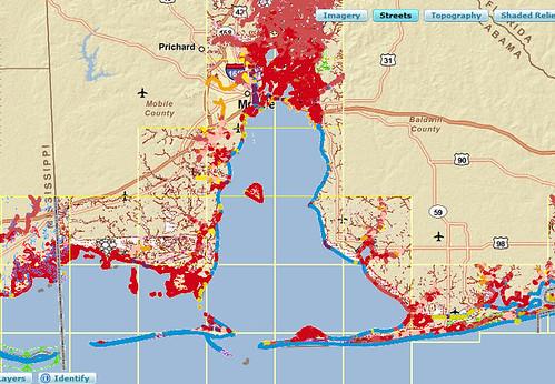 Gulf Coast Environmental Sensitivity (ESA) Web Map Service