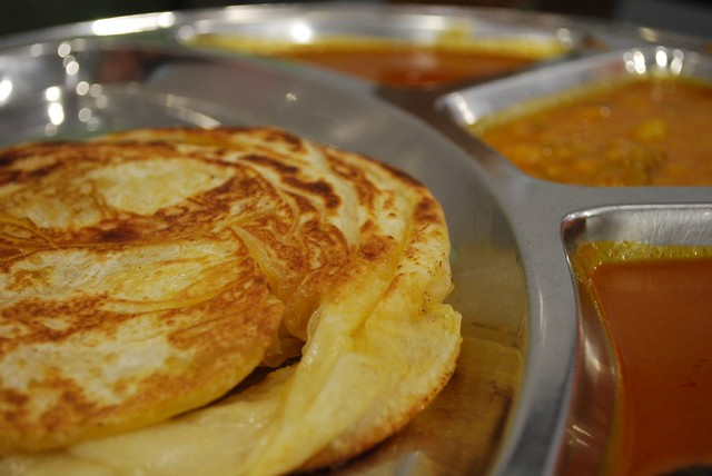 Roti Bom + kaya - Mega Curry House MYR2