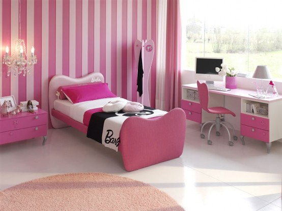 15-Cool-Ideas-for-pink-girls-bedrooms-14   home space   Flickr