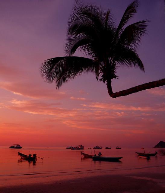 Sunset at Saree Beach