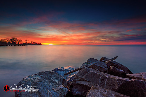 boulder clouds discoverwisconsin greatlakes lakemichigan landscape nature outdoors rocks sunrise travelwisconsin tree water windpoint wisconsin unitedstates us canon 5dmarkiii landscapephotography horizon wicounties longexposure
