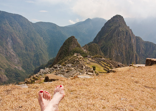 Inca Terrace and Bare Feet | by MacJewell