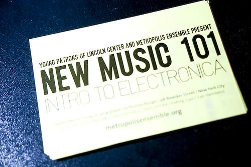 New Music 101