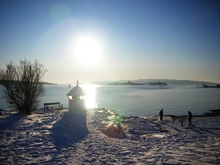 The Magic of extreme cold and snow at Oslo Fjord #5 | by RennyBA
