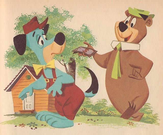 Huckleberry Hound and Yogi Bear - Huckleberry Hound Builds a House