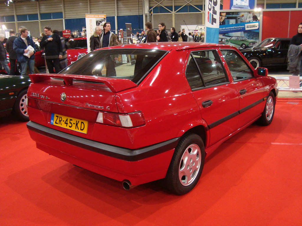 1991 Alfa Romeo 33 S 16v Qv Permanent 4 9 January 2010 Me Flickr
