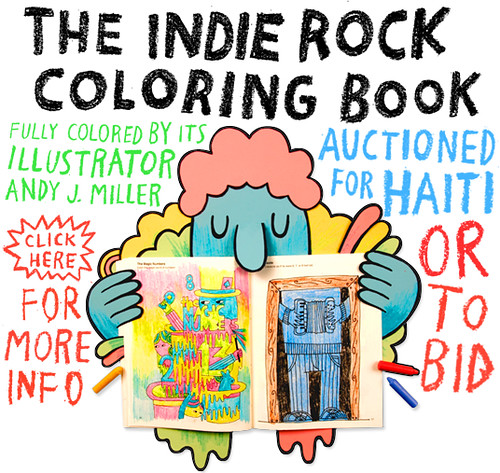 Coloring for Haiti | The Indie Rock Coloring Book fully colo… | Flickr