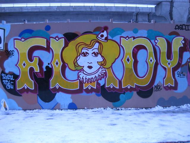 F.Lady Graffiti