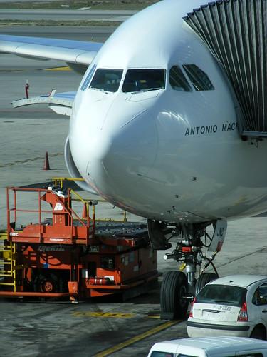 Iberia Airbus A340-600 EC-JNQ @ Madrid Barajas | by slasher-fun