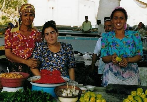Peppers in Uzbekistan