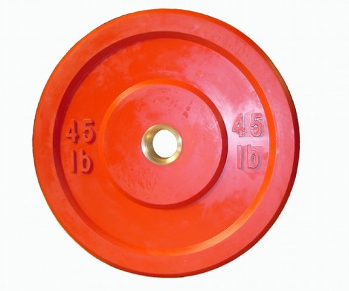 Colored 45 lb Weight | by Diamond Rubber Products