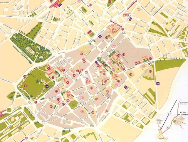 Mapa Alcala De Henares.Mapa Alcala De Henares Mapa Alcala De Henares Flickr