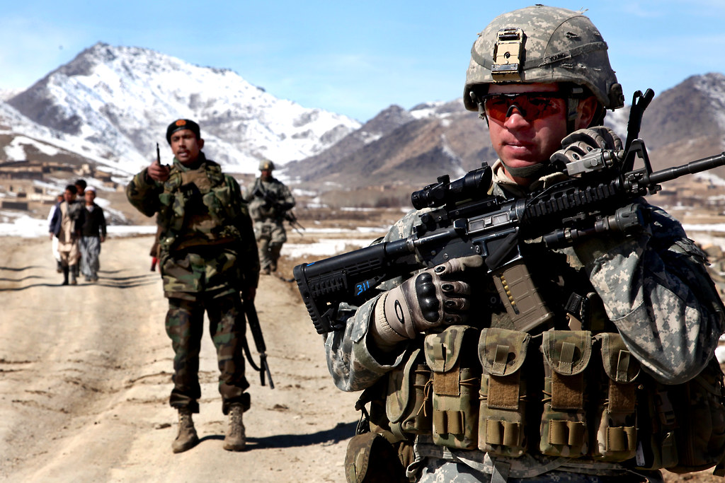 US Army – Security Patrol in Afghanistan