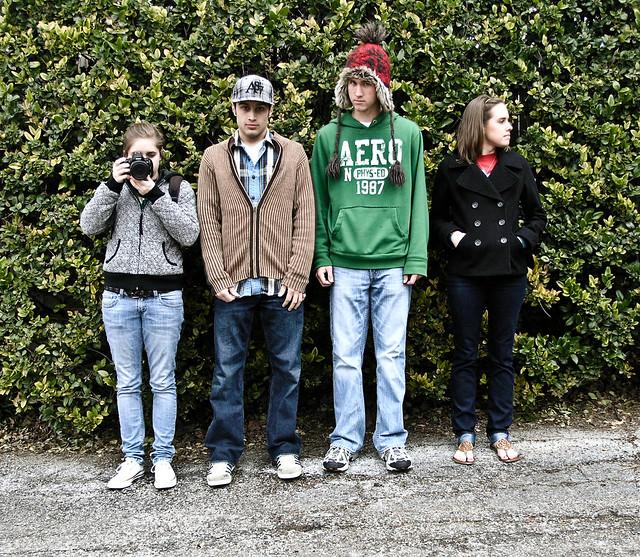 Lauren, Garrett, Brent and Sam