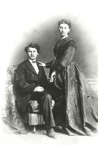 Marcus, Hermann and Ernestine; Wedding Portrait   by Center for Jewish History, NYC