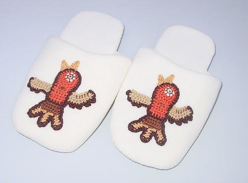 Native inspired Slippers