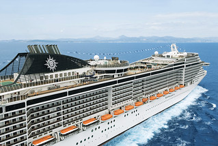 MSC Splendida Cruise Ship | MSC Splendida, the second in ...