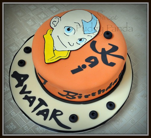 Avatar the Last Airbender Cake   by Sweet Pudgy Panda