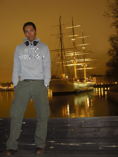 waiting for the night to get this pic, Stockholm I'll be back!