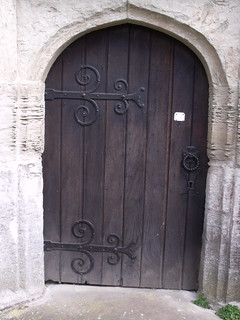 St Michael's Church, Baddesley Clinton - church door   by ell brown