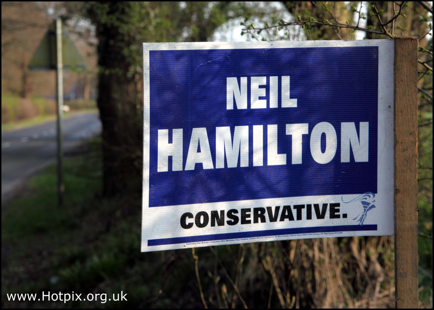 neil,hamilton,tatton,knutsford,tory,candidate,conservative,sign,general,election,2010,may,6th,true,blue,majority,cheshire,george,osbourne,electorial,parliament,UK,westminster,government,britain,british,politition,politicion,politic,politics,Labour,Liberal,Democrats,Green,Party,libdems,lib,dems,hotpics,hotpic,hotpick,hotpicks,hot,pics,pix,picks,highway,road,old,stuff,politician,hotpix!