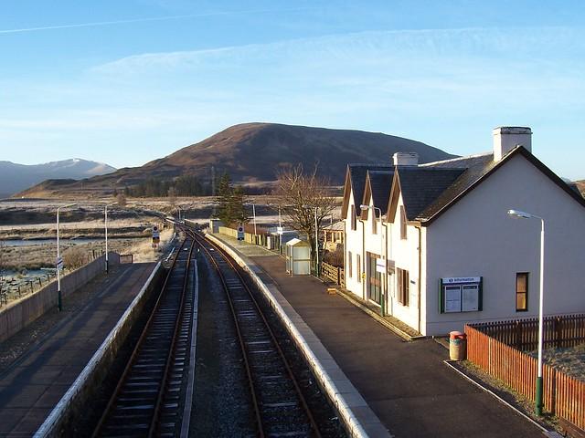 Achnasheen Station Railway House, Achnasheen, West Highlands, January 2006