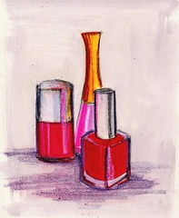 nail polish study number one | by linda boucher