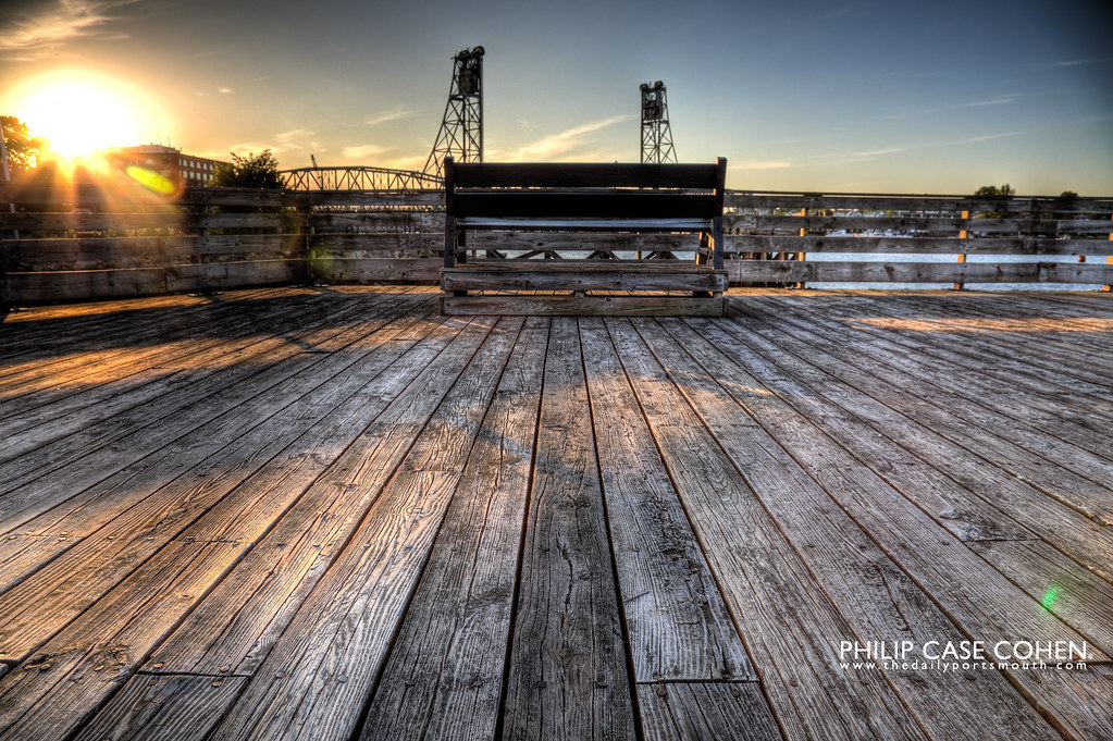 On the Pier by Philip Case Cohen