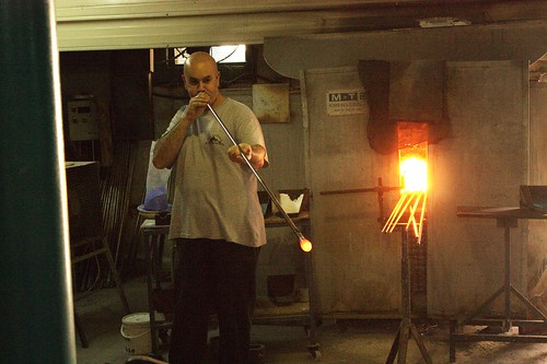Glass blowing | by Andy M Smith