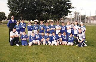 2000's Youth Team   by Naomh Fionnbarra GAA Club