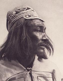 Innu chief, Fort Chimo (now Kuujjuaq), Quebec, 1912 / Chef innu, Fort Chimo (maintenant appelé Kuujjuaq), Québec, 1912