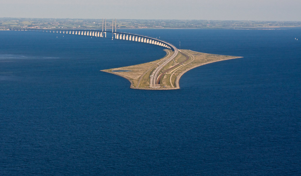 öresund bridge by alexander reneby lithman