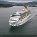 The season of cruise ships in Norway 2010
