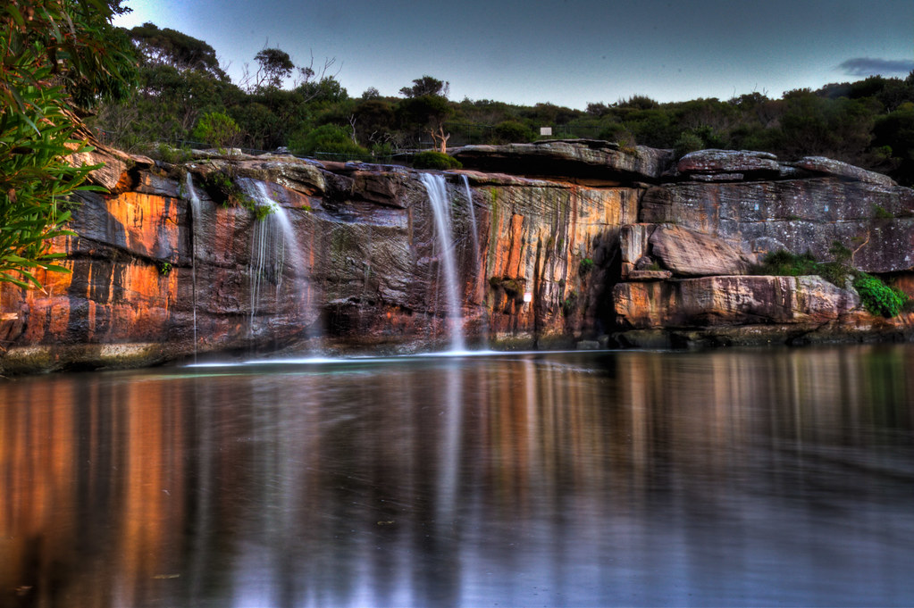 Wattamolla Waterfall by Sn!per