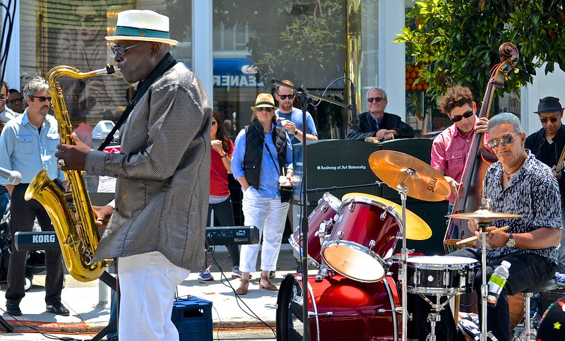 """Fillmore Jazz Festival, music, San Francisco, """"Charles Unger Experience"""","""