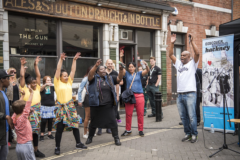 Discover Young Hackney at Well Street Market