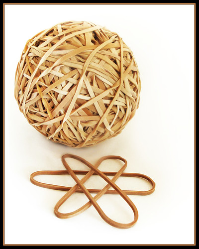 Rubber Band Ball (day 11) | by EssjayNZ